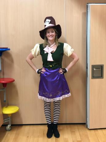 World Book Day - LC as The Mad Hatter
